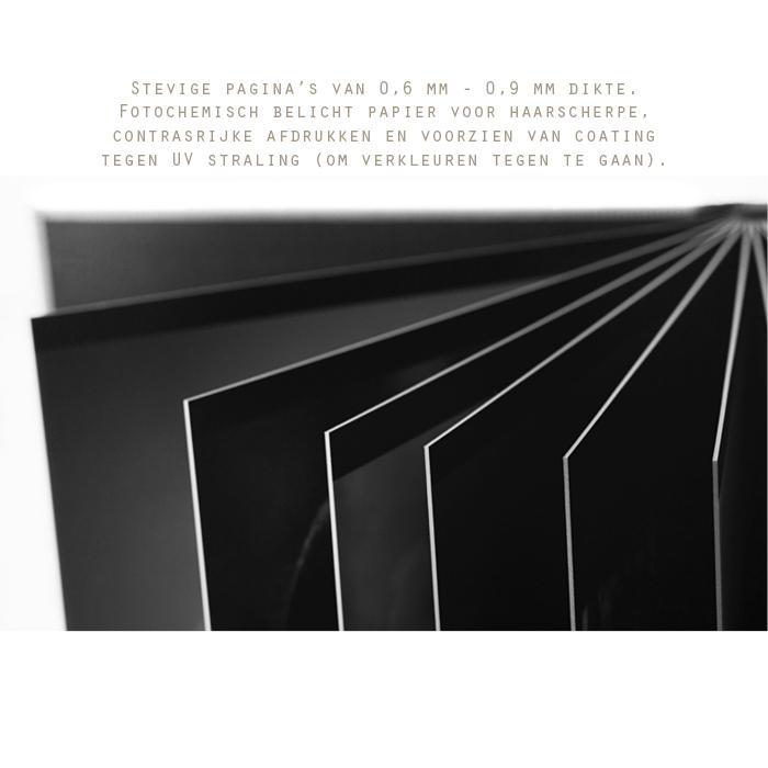 bladen van het album