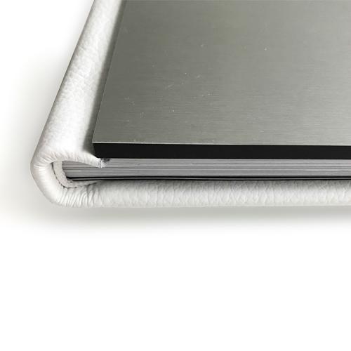 Trouwalbum aluminium